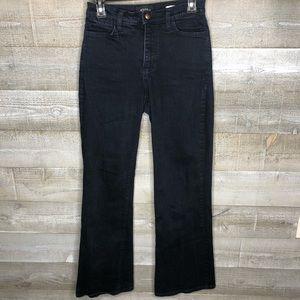 NYDJ 2/35 high rise wide leg flare jeans